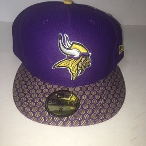 New Era 59 Fifty Sideline Collection NFL Vikings